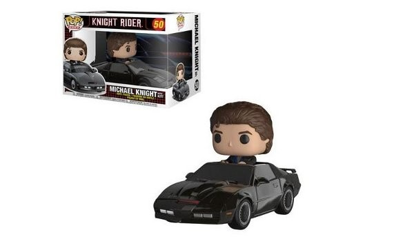 Knight Rider Michael Knight with KITT Pop! Vinyl