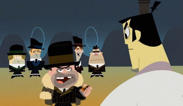 Samurai Jack - Episode XII: Jack and the Gangsters television review