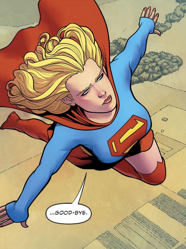 Supergirl #21 comic review