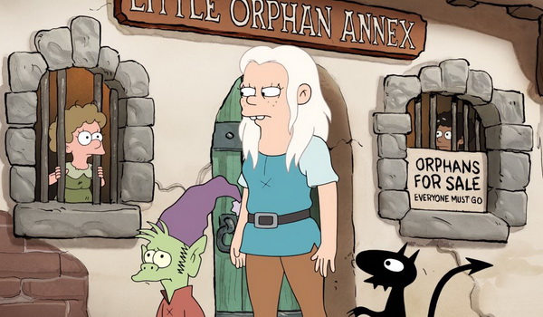 Disenchantment - Faster, Princess! Kill! Kill! television review