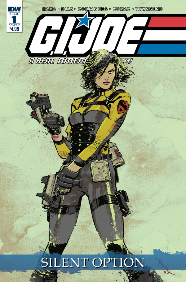 G.I. JOE: A Real American Hero - Silent Option #1 comic review