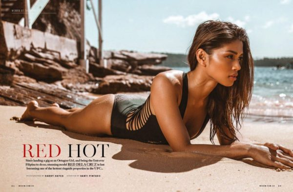 Red Dela Cruz - Maxim Australia (August 2018)
