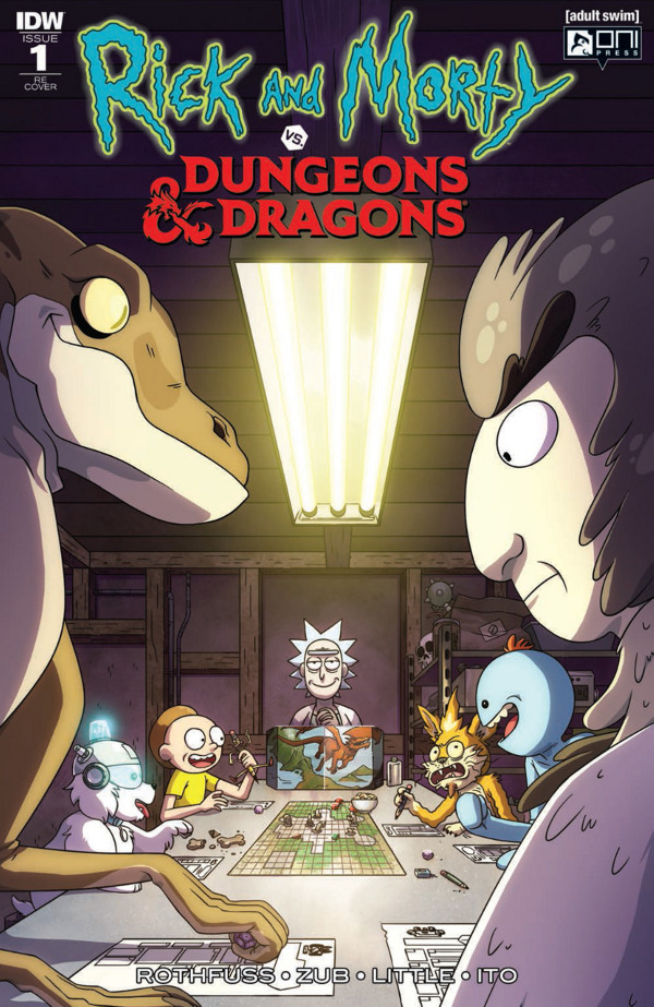 Rick and Morty vs. Dungeons & Dragons #1 comic review