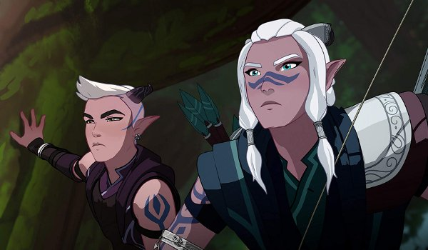 The Dragon Prince - Book One: Moon TV review