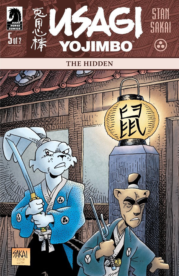 Usagi Yojimbo: The Hidden #5 comic review