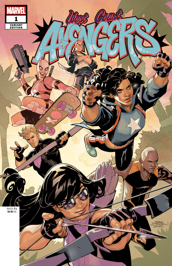 West Coast Avengers #1 comic review