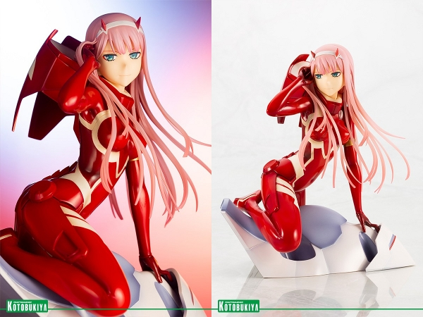 Zero Two (Darling in the FranXX) Ani Statue