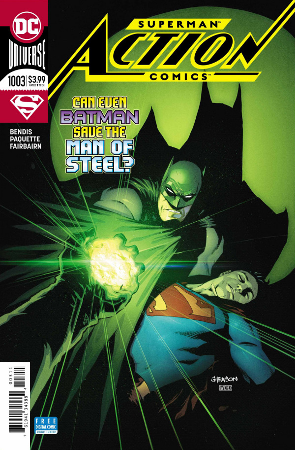 Action Comics #1003 comic review