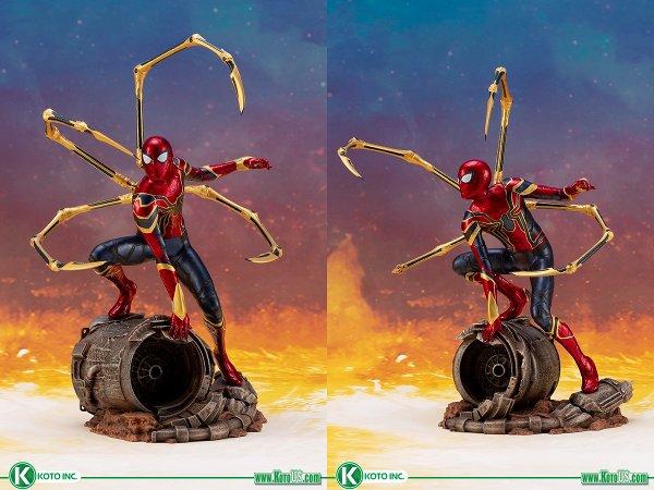 Infinity War Iron Spider ARTF+ Statue