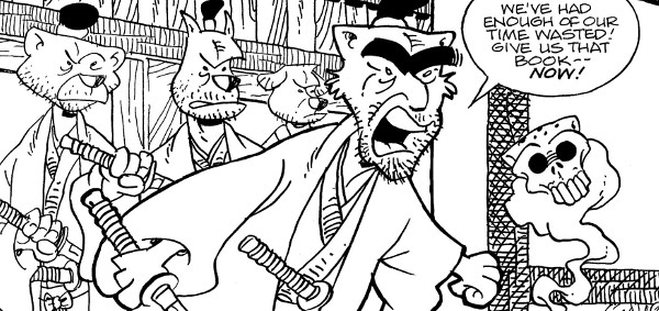 Usagi Yojimbo: The Hidden #7 comic review