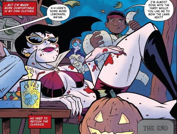 Vampirella 2018 Halloween Special comic review