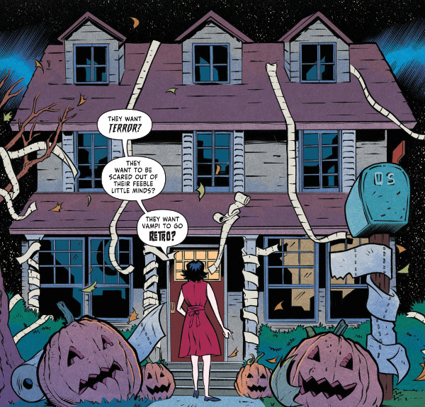 Vampirella 2018 Halloween Special comic review