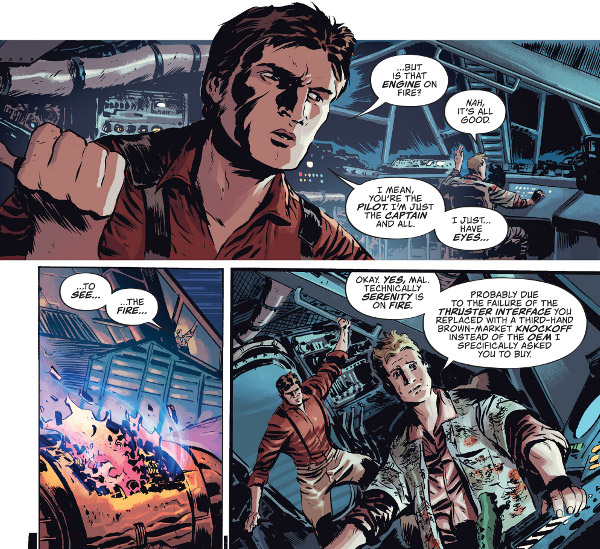 Firefly #1 comic review