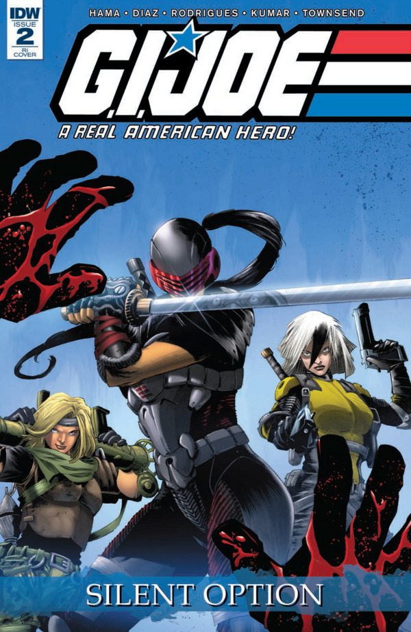 G.I. JOE: A Real American Hero - Silent Option #2 comic review