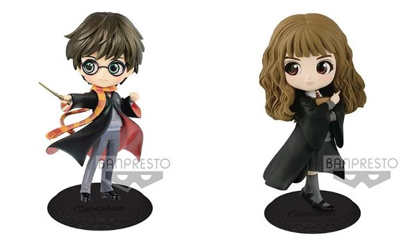 Harry Potter Q Posket Statues