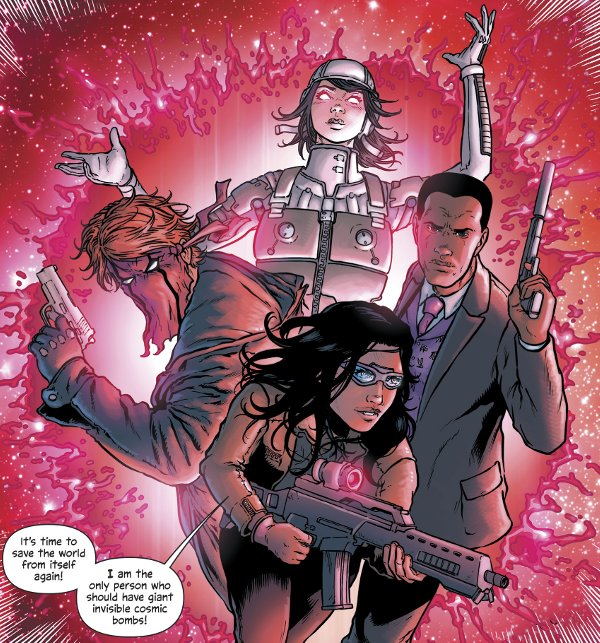 The Wild Storm #18 comic review