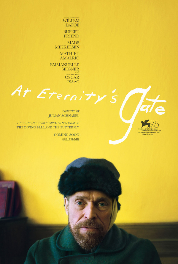 At Eternity's Gate movie review