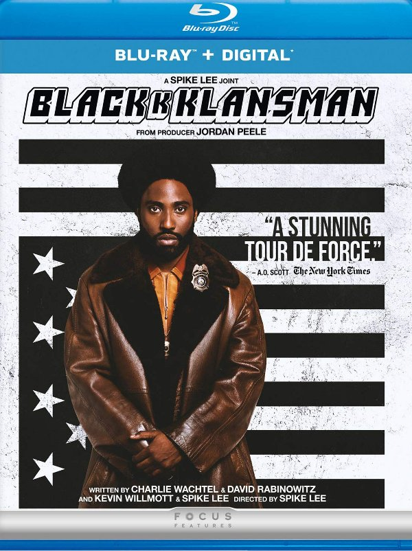 BlacKkKlansman Blu-ray review