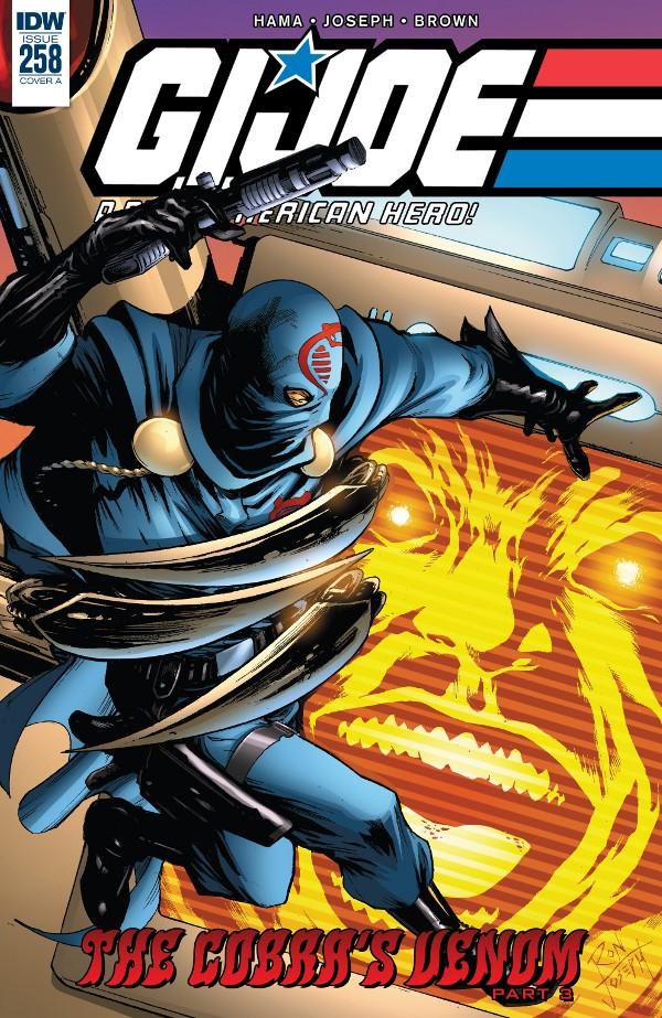 G.I. JOE: A Real American Hero #258