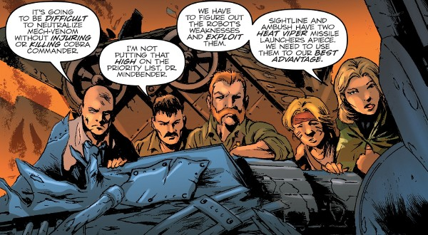 G.I. JOE: A Real American Hero #258 comic review