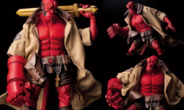 Hellboy 1:12 Scale Action Figure