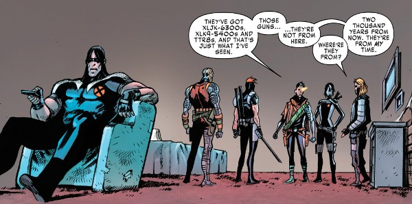 X-Force #1 comic review