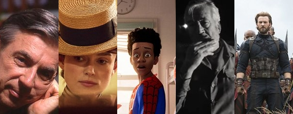 The Top Ten Movies of 2018