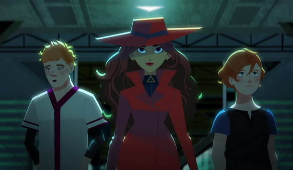 Carmen Sandiego - The Sticky Rice Caper television review