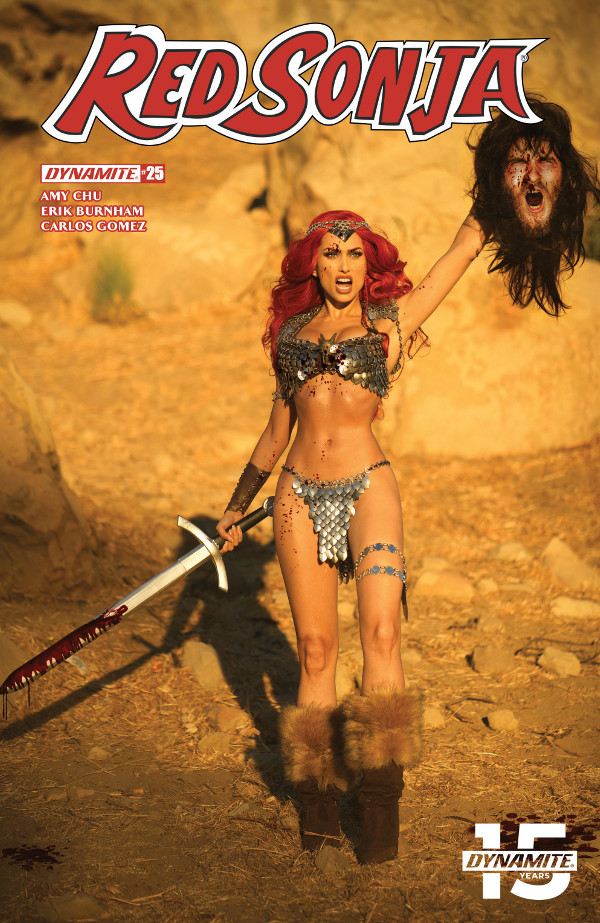 Red Sonja #25 comic review