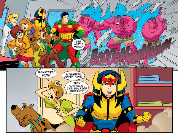Scooby-Doo! Team-Up #45 comic review