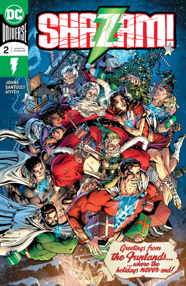 SHAZAM! #2 comic review