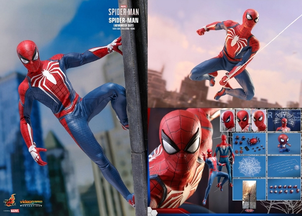 Spider-Man (Advanced Suit) Sixth Scale Figure