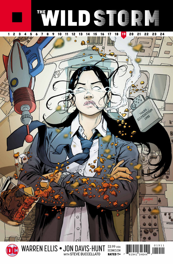 The Wild Storm #19 comic review