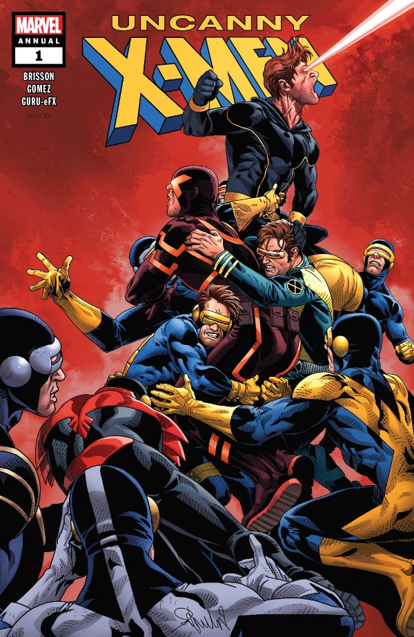 Uncanny X-Men Annual #1 comic review