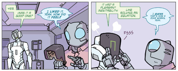 Atomic Robo & the Dawn of a New Era #2 comic review