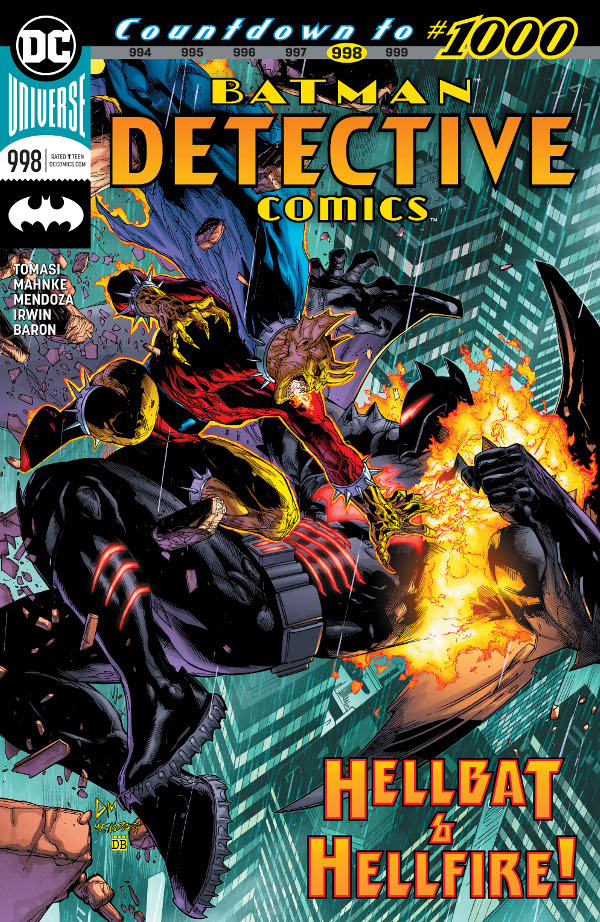 Detective Comics #998 comic review