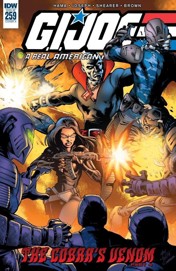 G.I. JOE: A Real American Hero #259 comic review