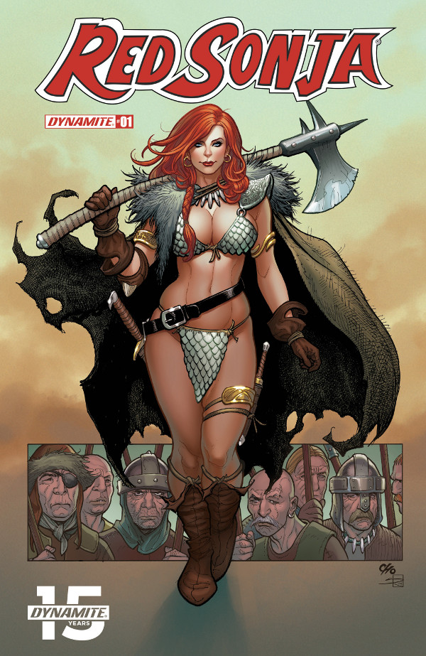 Red Sonja #1 comic review