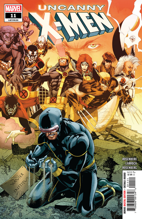 Uncanny X-Men #11 comic review