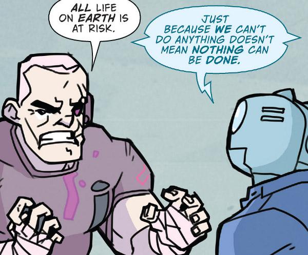 Atomic Robo & the Dawn of a New Era #3 comic review