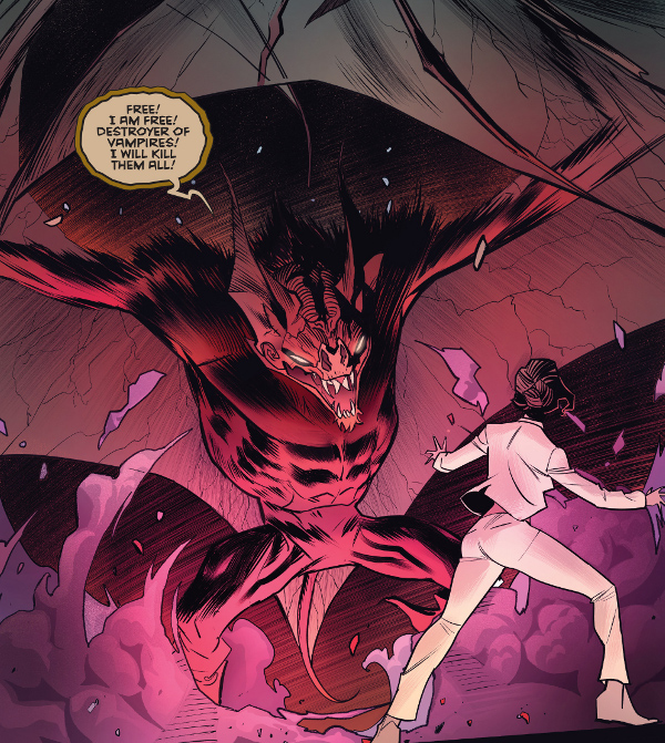 Buffy the Vampire Slayer #2 comic review