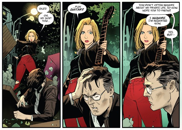 Buffy the Vampire Slayer #3 comic review