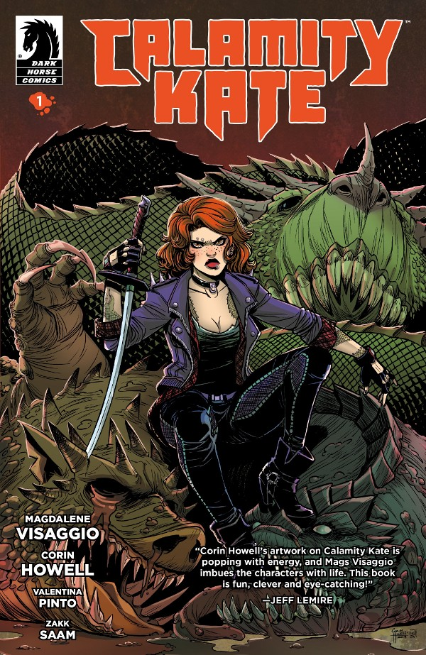Calamity Kate #1 comic review