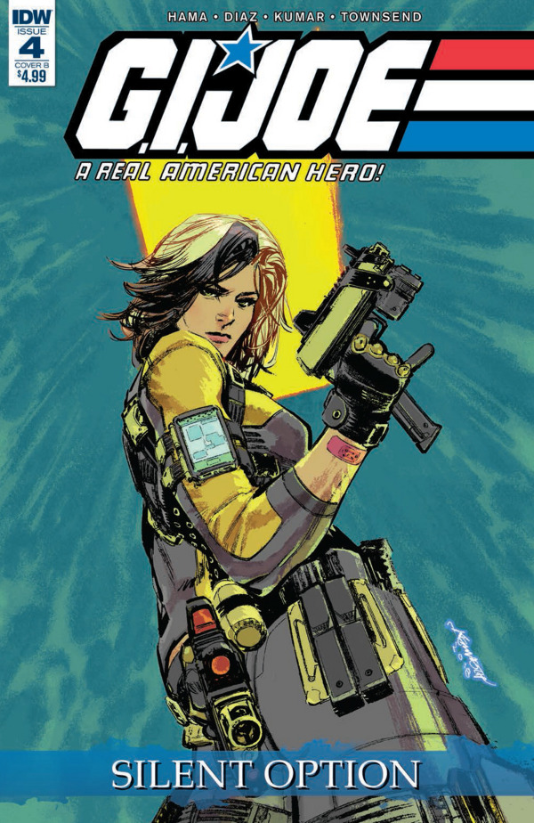 G.I. JOE: A Real American Hero - Silent Option #4 comic review