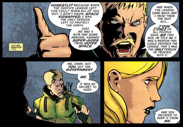 Green Arrow #50 comic review