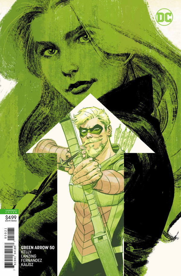 Green Arrow #50 comic review