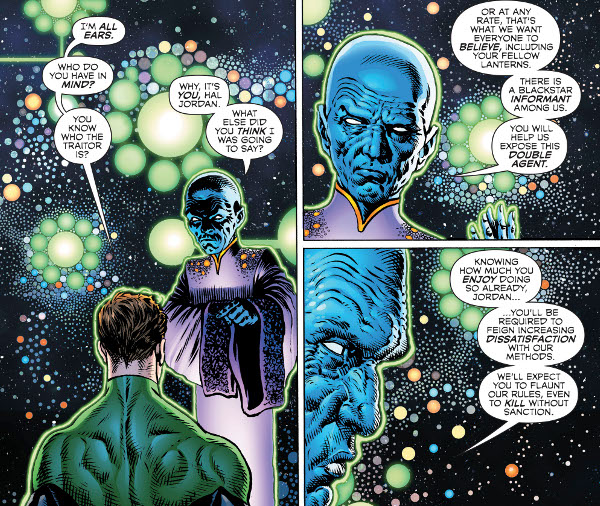 Green Lantern #5 comic review
