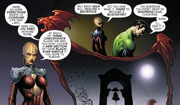 Green Lantern #5 comic review