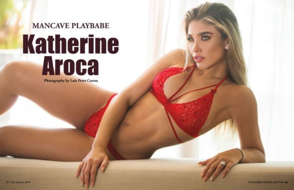 Katherine Aroca - Mancave Playbabes (December/January 2019)