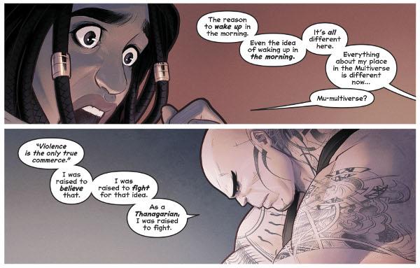 Naomi #3 comic review